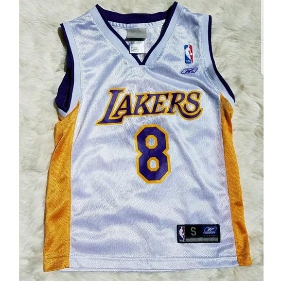 Vintage Kobe Bryant LA Lakers Jersey Youth Small 8.  M 5af552dd1dffda5f60014fa0 ac4c30f9b